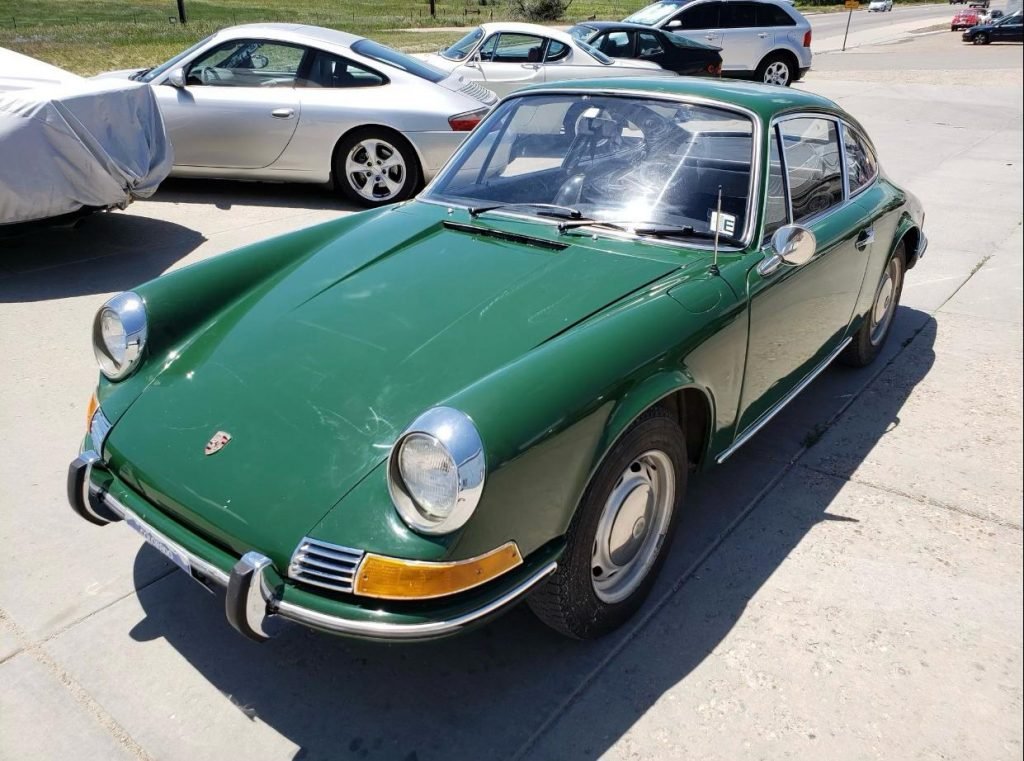 Porsche 912 Coupe 1969 (In Beautiful Irish Green & Original Condition)