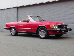 Mercedes 560 SL 1986 (Nice Condition & Ready For The Summer)