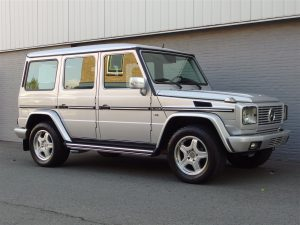 Mercedes G55 AMG Long 2003 (Powerful Youngtimer & 7 Seater)