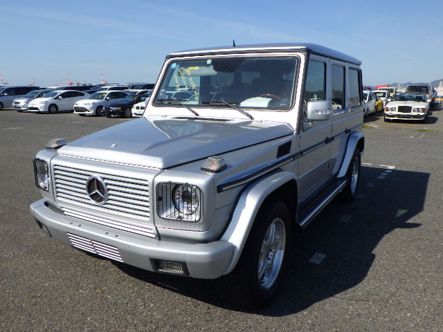 Mercedes G55 AMG Long 2003 (Powerful Yountimer & 7 Seater)