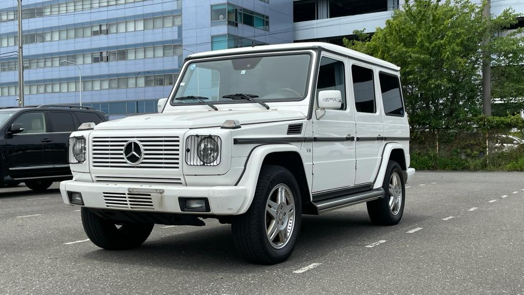 Mercedes G500 Long 2004 (Extra Rear Seats & Strong Youngtimer)