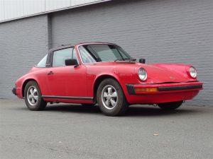 Porsche 911S Targa 1977 (True Barn Find & Running Condition)