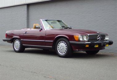 Mercedes 560 SL 1988 (Perfect Technics & Charming Color Combination)